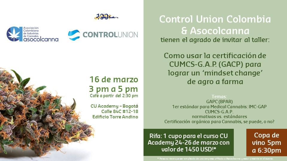 Control Union Colombia & Asocolcanna
