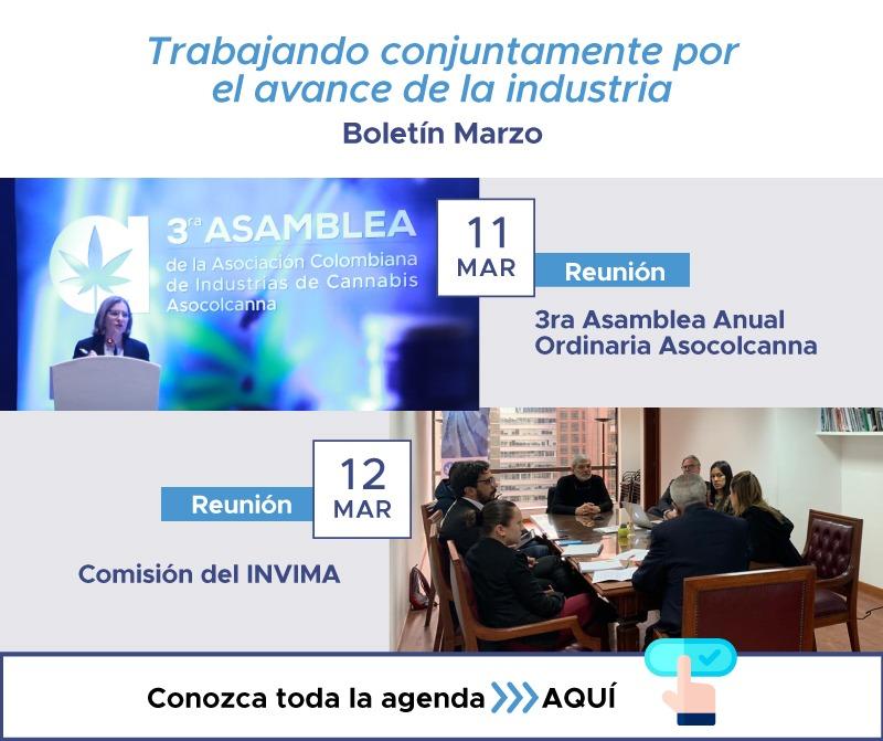 Boletín Asocolcanna Marzo 2020