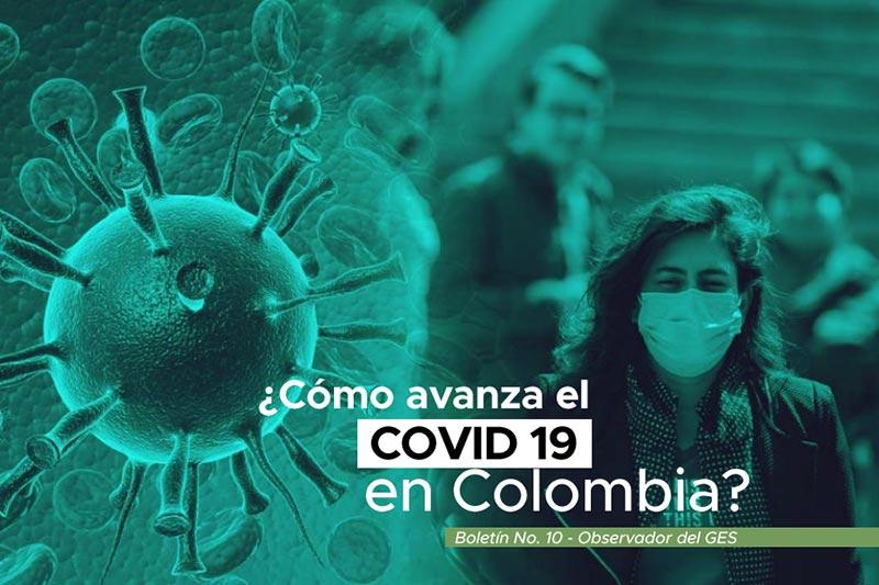 como avanza el COVID 19 en colombia