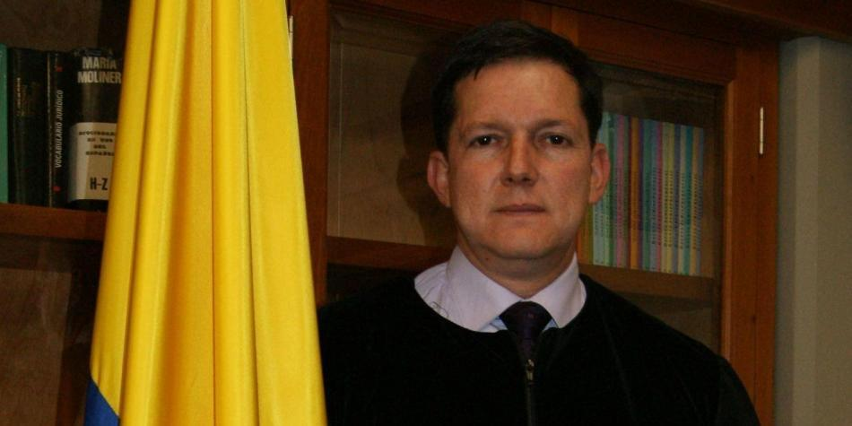 Exmagistrado Wilson Ruiz,