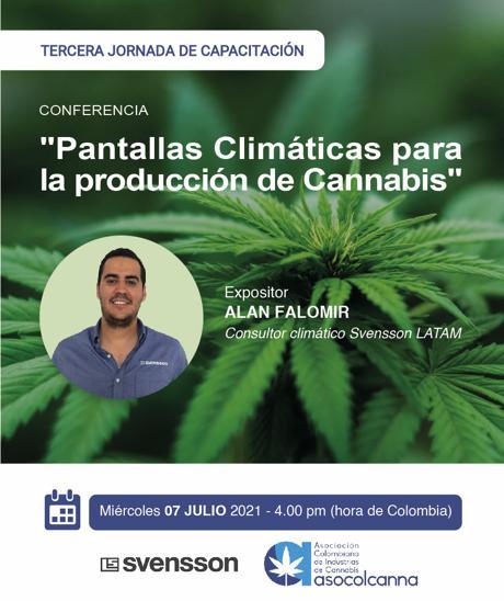 Pantallas climáticas para la producción de Cannabis